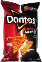 Doritos Locos Tacos Nacho Cheese Crunchy Taco