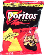 Doritos Mexican Hot Flavour