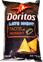Doritos Late Night Tacos at Midnight