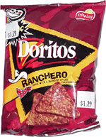 Doritos Ranchero Tortilla Chips