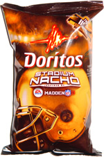 Doritos Stadium Nacho Inspired by EA Sports Madden NFL 11