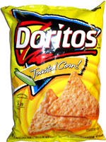 Doritos Toasted Corn! Tortilla Chips