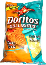 Doritos Collisions Zesty Taco Chipotle Ranch