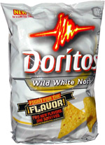 Doritos Wild White Nacho Tortilla Chips