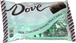 Dove Silky Smooth Promises Milk Chocolate Holiday Mint Cookie