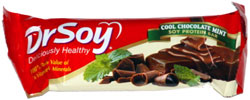 Dr. Soy Deliciously Healthy Cool Chocolate Mint Soy Protein Bar