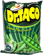 Dr. Taco Green Peas Snack