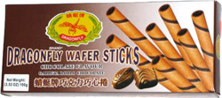 Dragonfly Wafer Sticks Chocolate Flavour