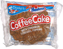 Drake's by Hostess  Coffee Cake