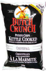 Dutch Crunch Potato Chips Kettle Cooked Original