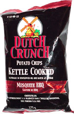 Dutch Crunch Mesquite BBQ Kettle Cooked Potato Chips
