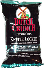 Dutch Crunch Sea Salt & Malt Vinegar Kettle Cooked Potato Chips