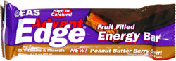 Advant Edge Fruit Filled Energy Bar Peanut Butter Berry Swirl