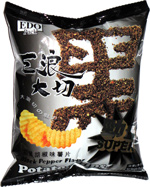 EDO Pack Black Pepper Flavor Potato Chips