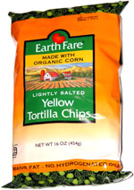 Earth Fare Lightly Salted Yellow Tortilla Chips