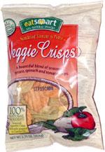 Eat Smart Sundried Tomato & Pesto Veggie Crisps
