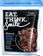 Eat. Think. Smile Savory Sea Salt Crispy Thins
