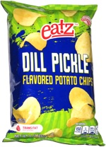 Eatz Dill Pickle  Flavored Potato Chips