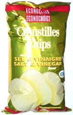 Econochoice Salt & Vinegar Flavour Chips