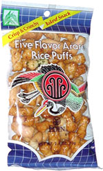 Eden Five Flavor Arare Rice Puffs