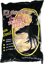 El Jinete Gourmet Tortilla Chips Lemon Flavored