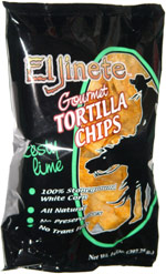 El Jinete Gourmet Tortilla Chips Zesty Lime