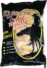 El Jinete Gourmet Tortilla Chips Lightly Salted