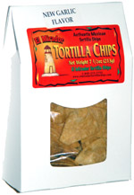 El Mirador Authentic Mexican Tortilla Chips Garlic Flavor