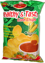Elbi's Healthy & Tasty Corn Chips Original Scoop Snacks