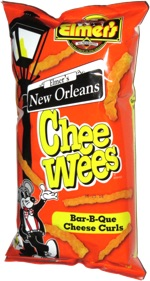 Elmer's New Orleans Chee Wees Bar-B-Que Cheese Curls