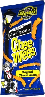 Elmer's New Orleans Chee Wees Original Cheese Curls