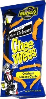 Elmer's New Orleans Chee Wees Original Cheese Curls