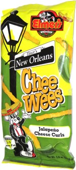 Elmer's New Orleans Chee Wees Jalapeño Cheese Curls