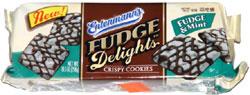 Entenmann's Fudge Delights Crispy Cookies Fudge & Mint