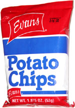 Evans Potato Chips