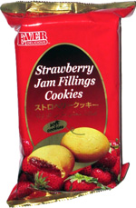 Ever Delicious Strawberry Jam Fillings Cookies