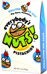 Everybody's Nuts! California Pistachios Roasted No Salt