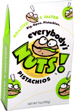 Everybody's Nuts! California Pistachios Roasted & Salted