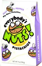 Everybody's Nuts! California Pistachios Salt & Pepper