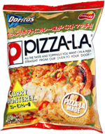 Doritos Pizza-La Curry Monterey