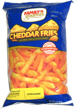 Family Gourmet Cheddar Fries