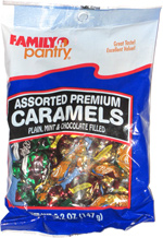 Family Pantry Assorted Premium Caramels