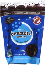 Mini Crunch! Cookies Double Chocolate