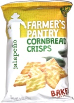 Farmer's Pantry Cornbread Crisps Jalapeño