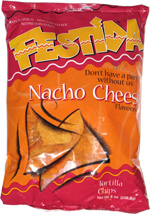 Festida Nacho Cheese Tortilla Chips