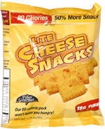 Fiber Gourmet Lite Cheese Snacks
