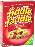 Fiddle Faddle Caramel Popcorn with Peanuts