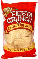 Fiesta Crunch Restaurant Style White Corn Tortilla Chips
