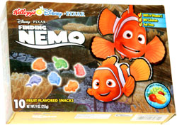 Finding Nemo Fruit Flavored Snacks