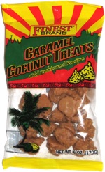 Finest Brand Caramel Coconut Clusters